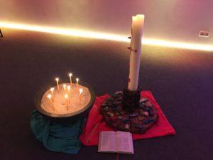 Kerzengebet mit der Sozialstation